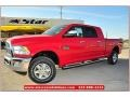 Flame Red 2012 Dodge Ram 2500 HD Gallery