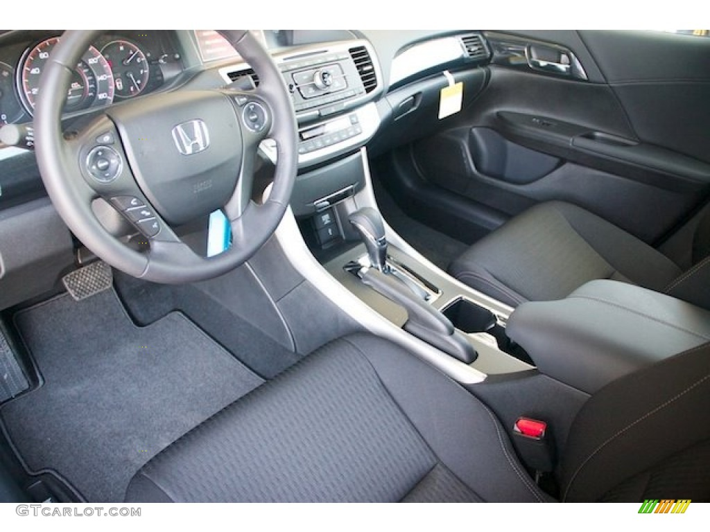 Black Interior 2013 Honda Accord Sport Sedan Photo