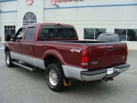 2004 Ford F250 Super Duty Xlt Crew Cab 4x4 Data Info And Specs