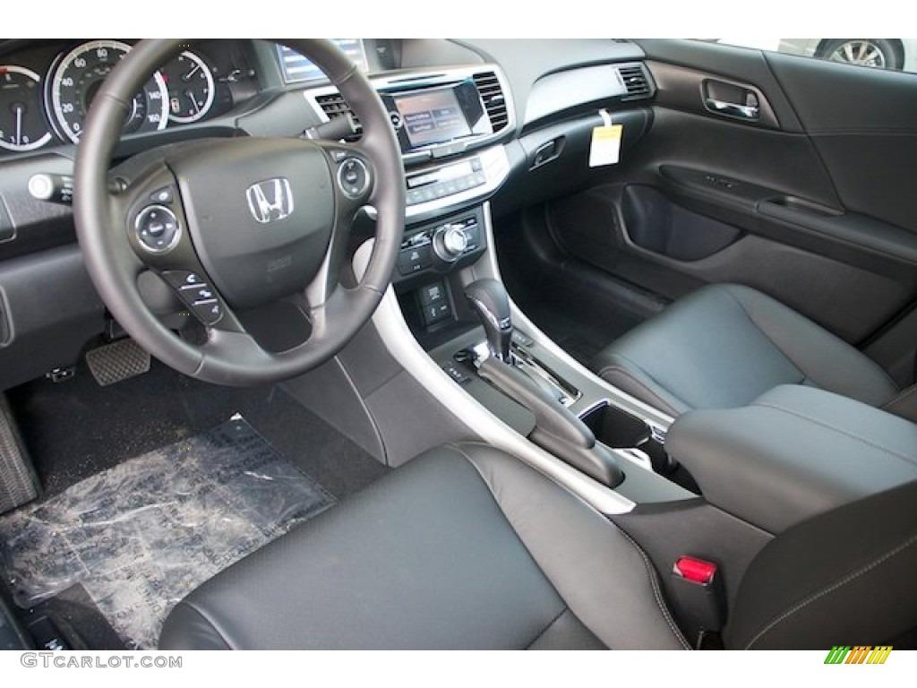 Black Interior 2013 Honda Accord EX-L V6 Sedan Photo ...