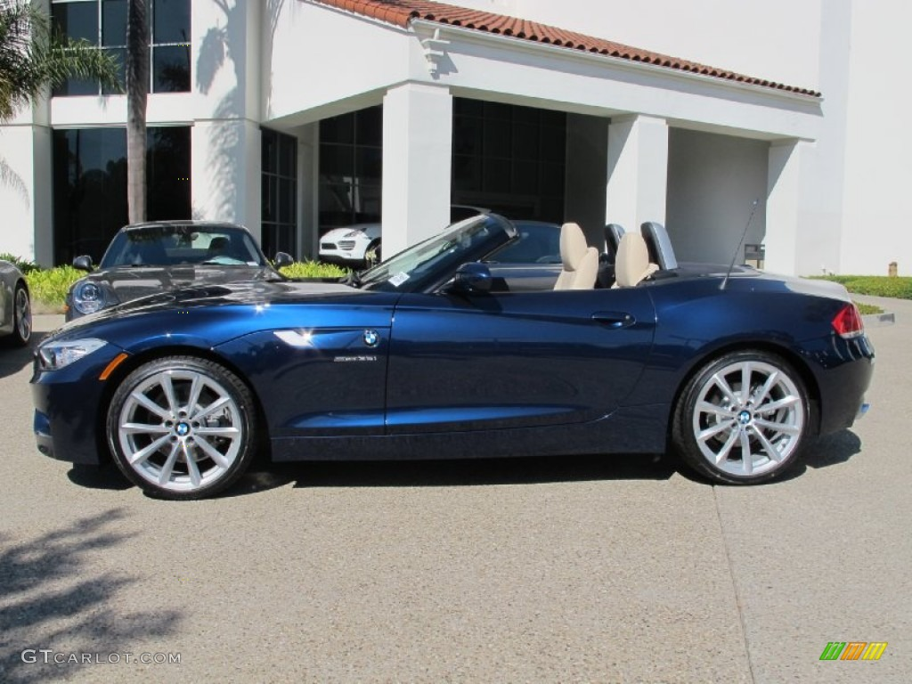 Deep Sea Blue Metallic 2013 Bmw Z4 Sdrive 35i Exterior