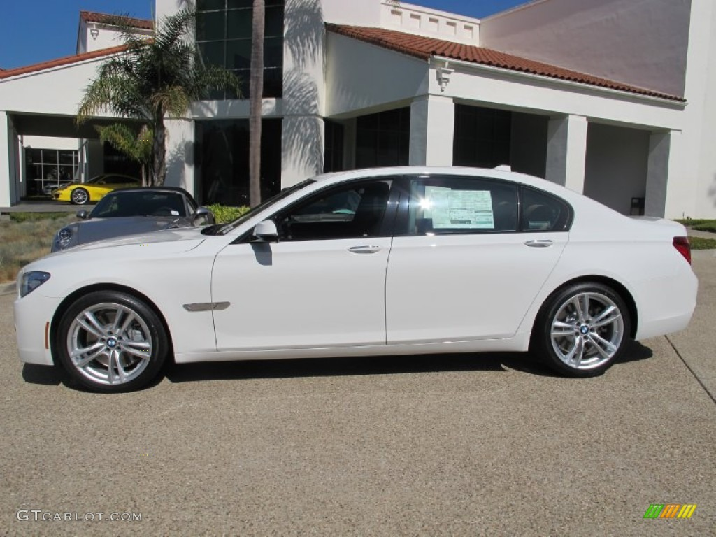 Alpine White 2013 BMW 7 Series 750Li Sedan Exterior Photo 71897748