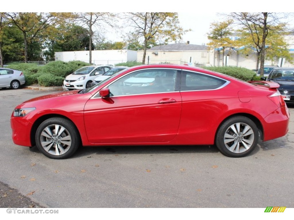San Marino Red 2010 Honda Accord Ex L Coupe Exterior Photo