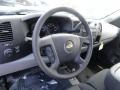 Ebony Steering Wheel Photo for 2013 Chevrolet Silverado 1500 #71906898