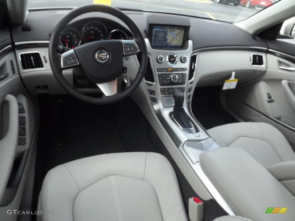 Light Titanium Ebony Interior 2013 Cadillac Cts 3 6 Sedan Photo 71909380