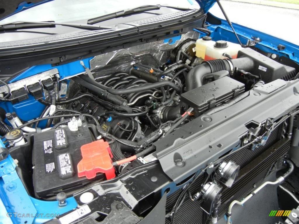 2013 Ford F150 FX2 SuperCab 5.0 Liter Flex-Fuel DOHC 32-Valve Ti-VCT V8 Engine Photo #71918751