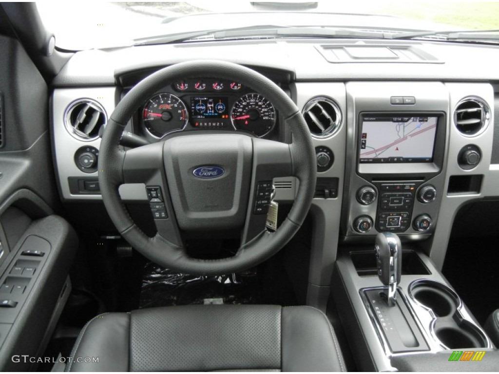 2013 Ford F150 Fx4 Supercrew 4x4 Black Dashboard Photo 71919264