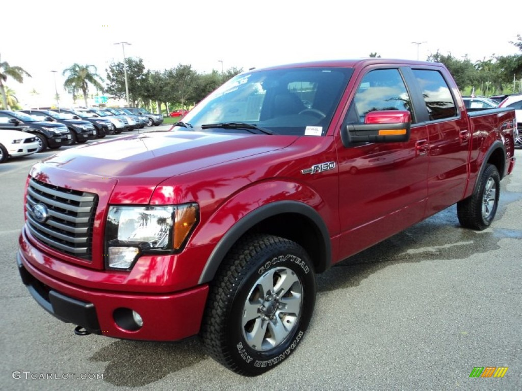 ford 2011 ford svt raptor red candy metallic 2011 ford f150 fx4 supercrew 4x4 exterior