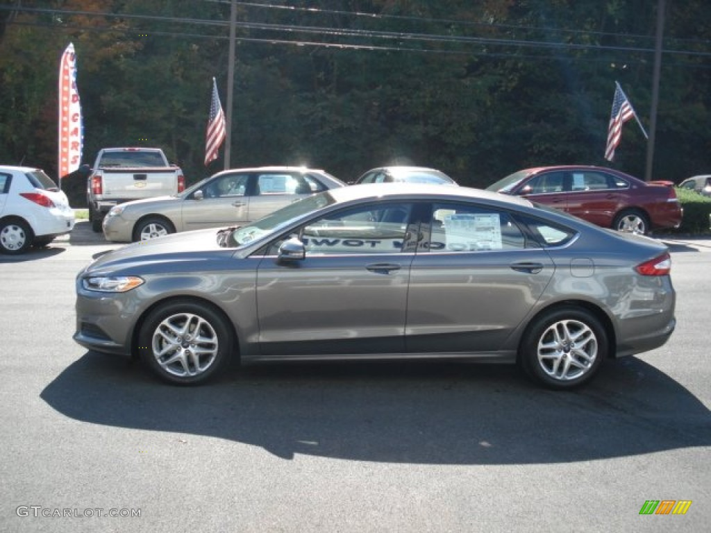 Sterling Gray Metallic 2013 Ford Fusion Se Exterior Photo 71931579