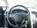 Charcoal Black Steering Wheel Photo for 2013 Ford Fusion #71931825