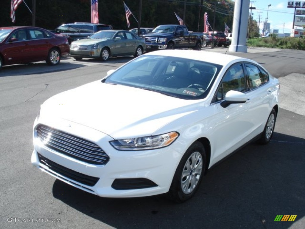 Oxford White 2013 Ford Fusion S Exterior Photo 71932003