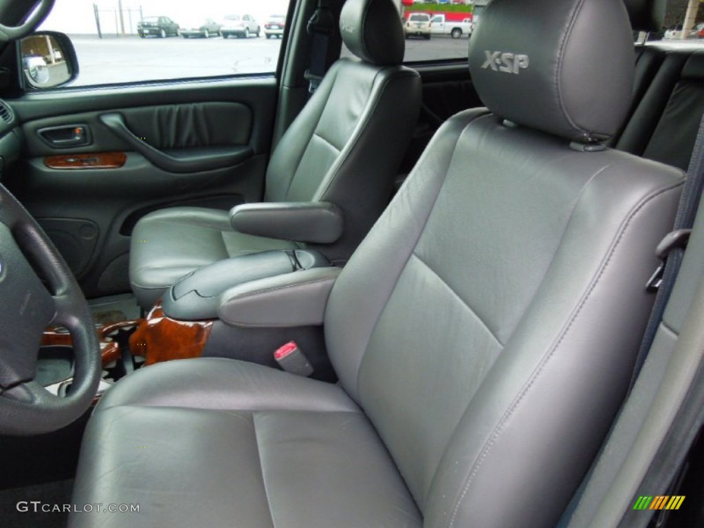 Dark Gray Interior 2006 Toyota Tundra Sr5 X Sp Double Cab