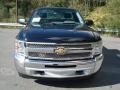 2013 Black Chevrolet Silverado 1500 Work Truck Regular Cab 4x4  photo #3
