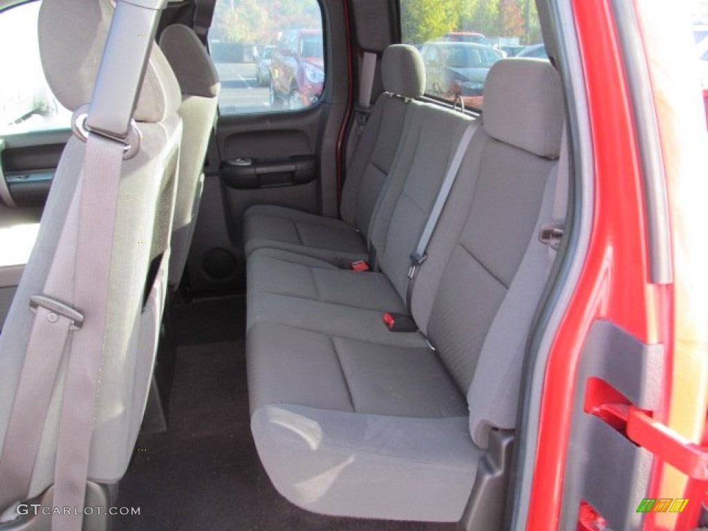 2009 Silverado 1500 LT Extended Cab 4x4 - Victory Red / Ebony photo #15