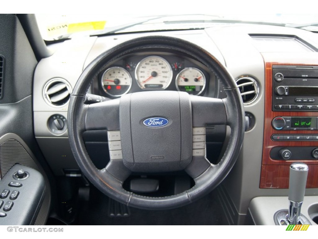 2006 Ford F150 Lariat SuperCrew 4x4 Steering Wheel Photos ...
