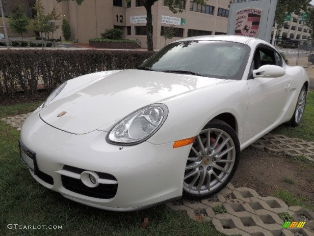 carrara white 2006 porsche cayman s exterior photo 71959312. Black Bedroom Furniture Sets. Home Design Ideas