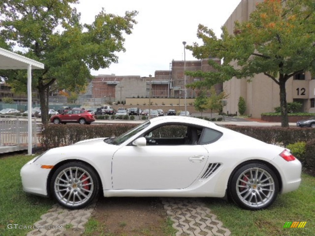 carrara white 2006 porsche cayman s exterior photo 71959399. Black Bedroom Furniture Sets. Home Design Ideas