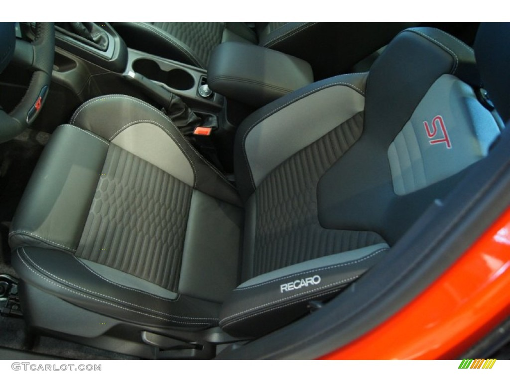 st smoke storm recaro seats interior 2013 ford focus st hatchback photo 71960254. Black Bedroom Furniture Sets. Home Design Ideas