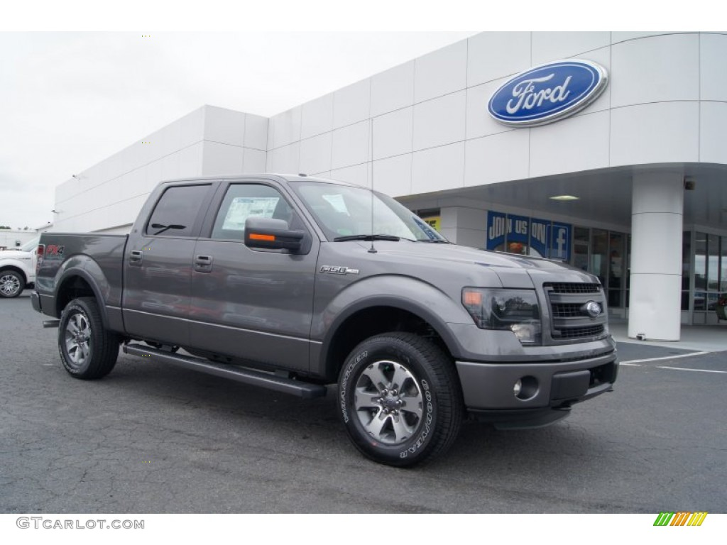 sterling gray metallic 2013 ford f150 fx4 supercrew 4x4 exterior photo 71960347. Black Bedroom Furniture Sets. Home Design Ideas