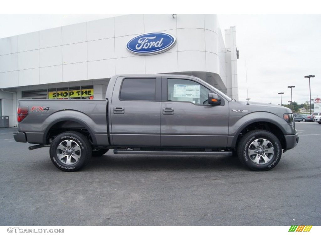 sterling gray metallic 2013 ford f150 fx4 supercrew 4x4 exterior photo 71960371. Black Bedroom Furniture Sets. Home Design Ideas