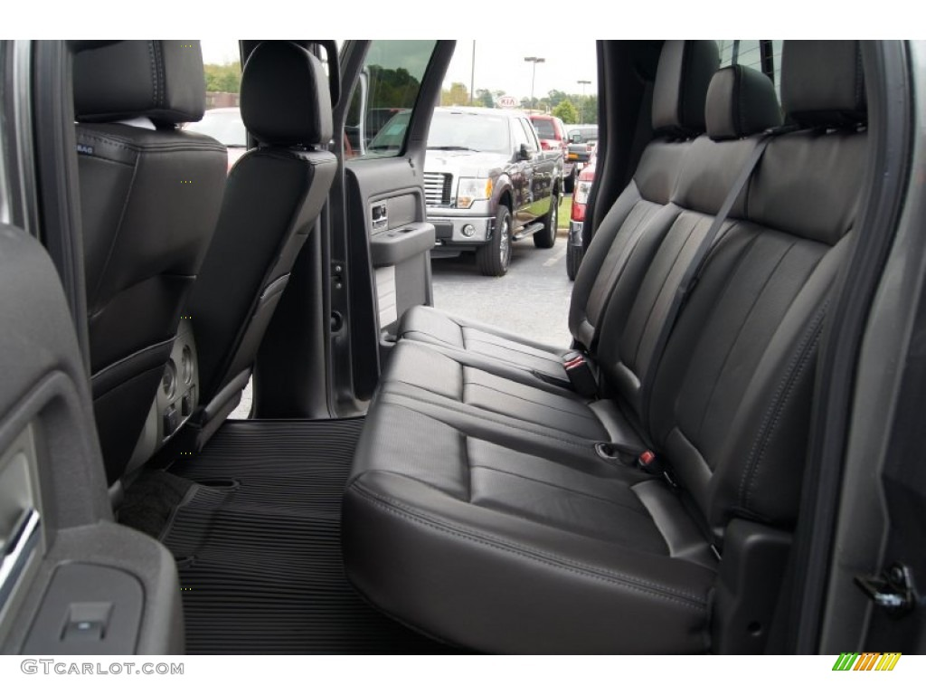 Black Interior 2013 Ford F150 Fx4 Supercrew 4x4 Photo