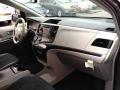 2012 Predawn Gray Mica Toyota Sienna SE  photo #12