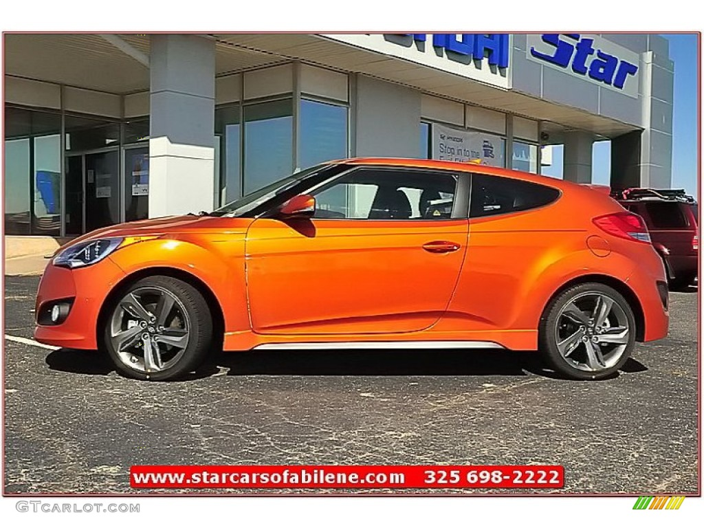 Hyundai Veloster Vitamin C Touch Up Paint