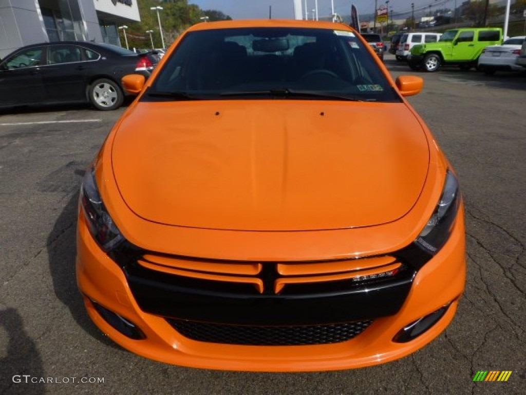 Header Orange 2013 Dodge Dart Rallye Exterior Photo