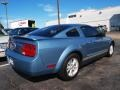 2007 Windveil Blue Metallic Ford Mustang V6 Premium Coupe  photo #3