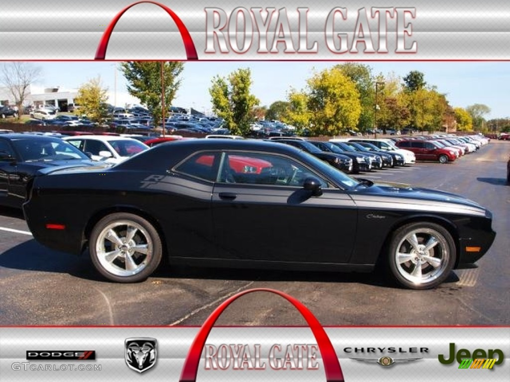 2013 challenger r t classic pitch black dark slate gray photo 1