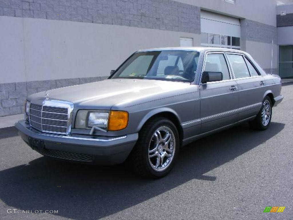 1988 Grey Pearl Metallic Mercedes-Benz S Class SEL 300 ...