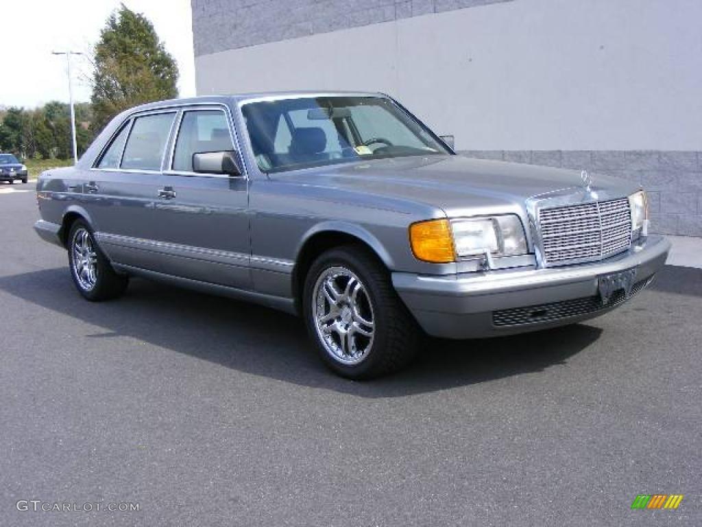 1988 grey pearl metallic mercedes benz s class sel 300 for Mercedes benz s class colours