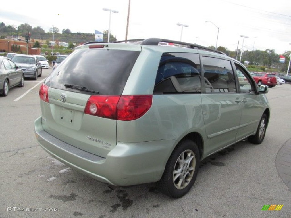 silver pine mica 2006 toyota sienna xle awd exterior photo. Black Bedroom Furniture Sets. Home Design Ideas