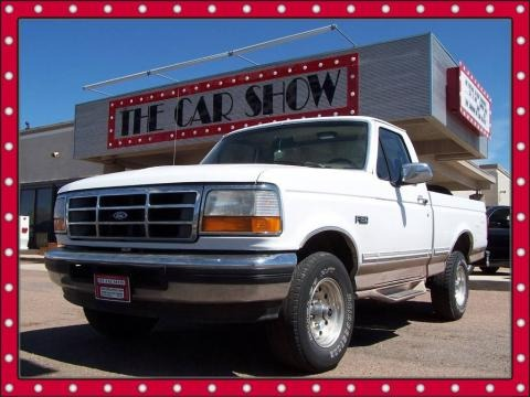 1996 Ford F150 Eddie Bauer Regular Cab 4x4 Data, Info and Specs