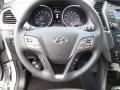 Beige Steering Wheel Photo for 2013 Hyundai Santa Fe #72009513