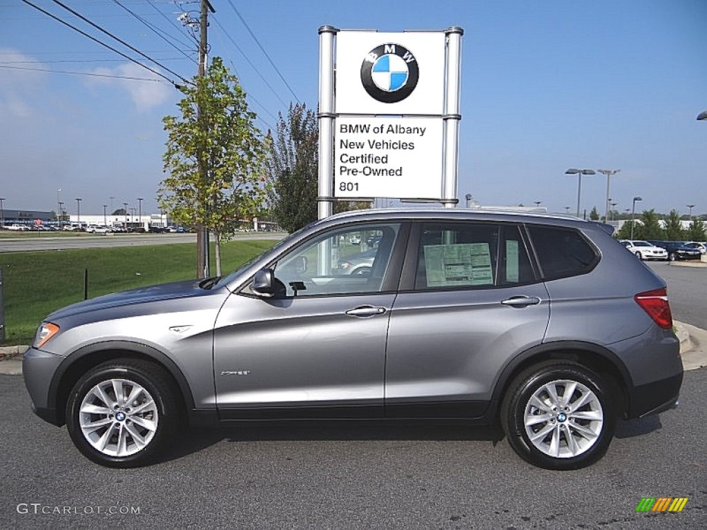 2013 Space Gray Metallic Bmw X3 Xdrive 28i 71980021