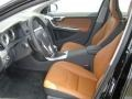 Beechwood/Off Black Front Seat Photo for 2013 Volvo S60 #72011328