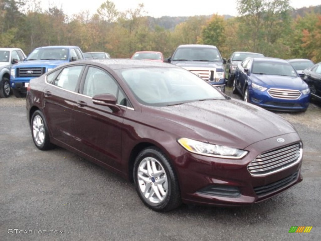 Bordeaux Reserve Red Metallic 2013 Ford Fusion Se Exterior Photo 72013602