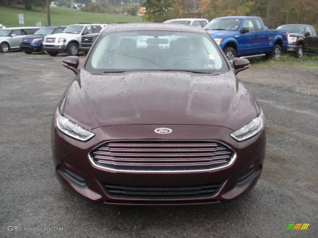 Bordeaux Reserve Red Metallic 2013 Ford Fusion Se Exterior Photo 72013626