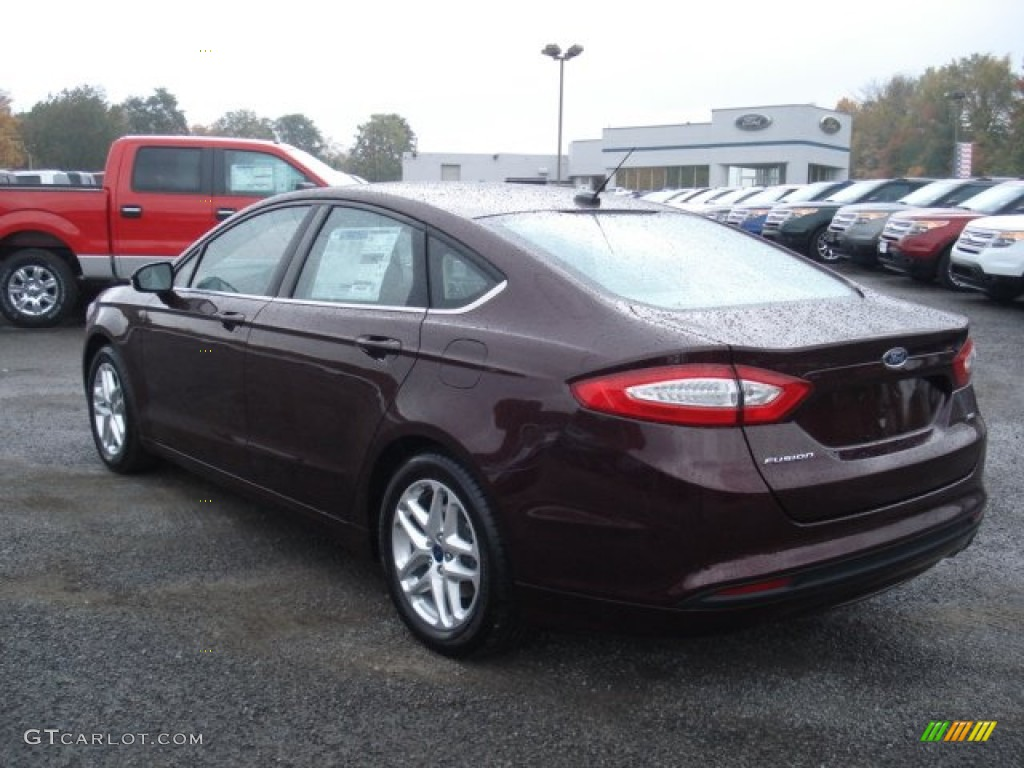 Bordeaux Reserve Red Metallic 2013 Ford Fusion Se Exterior Photo 72013698