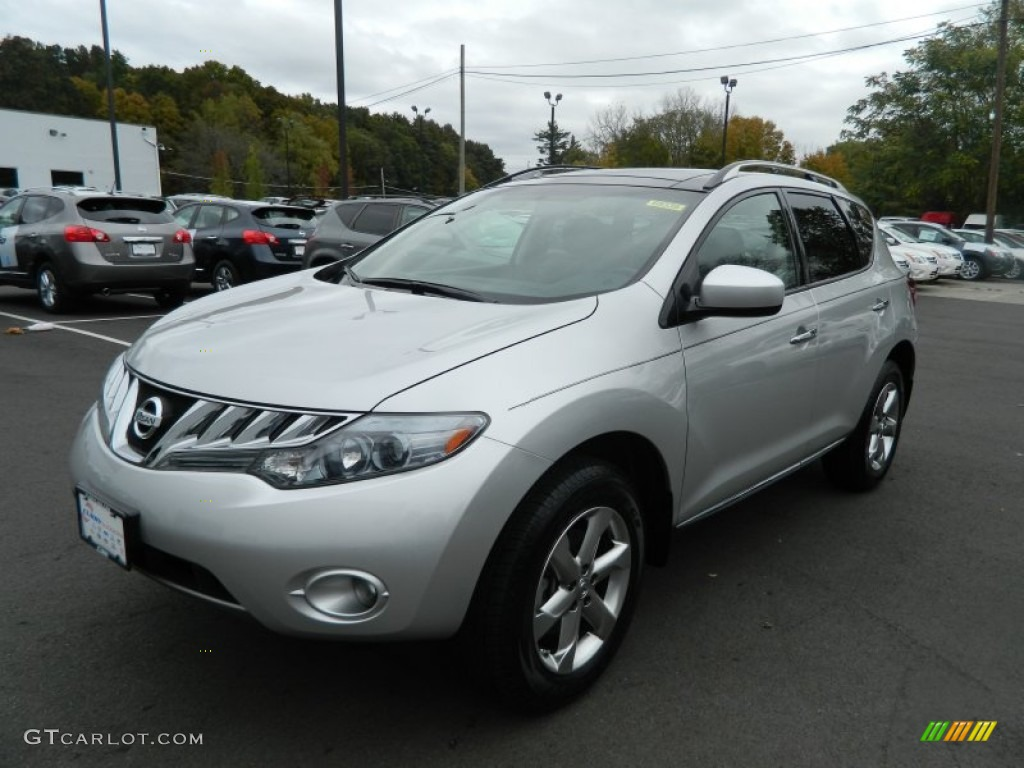 2010 Murano SL AWD - Brilliant Silver Metallic / Black photo #1
