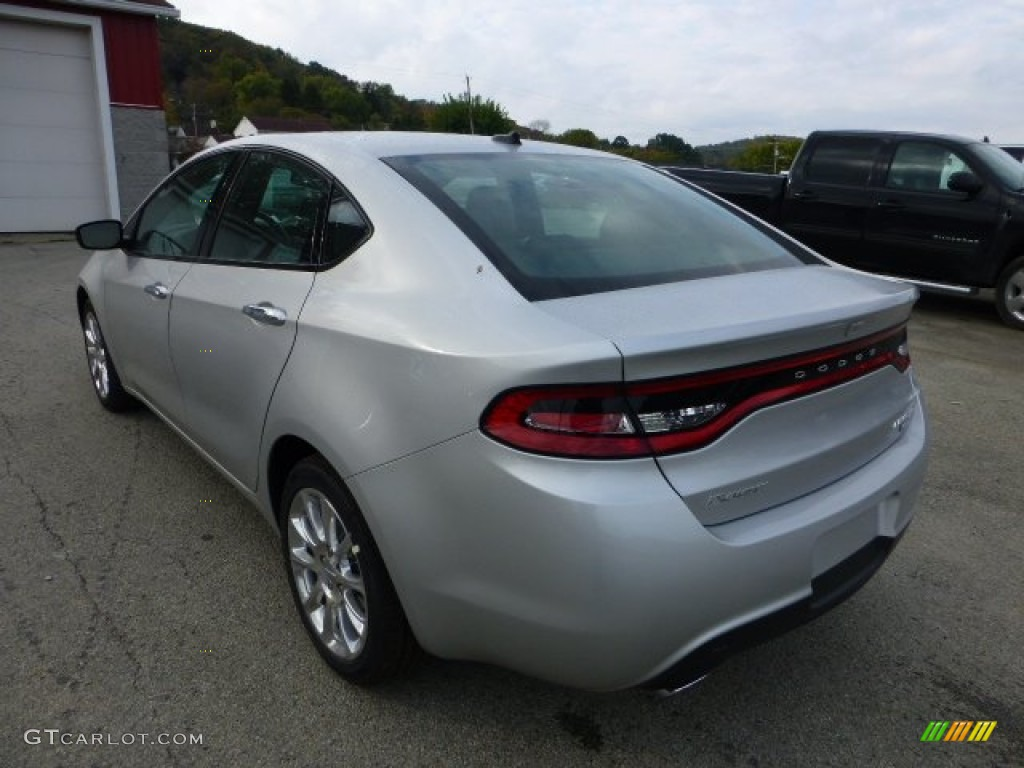 Bright Silver Metallic 2013 Dodge Dart Limited Exterior