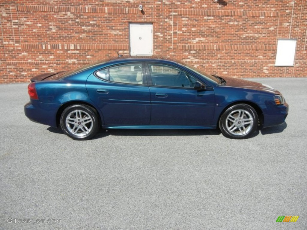 Blue Green Crystal 2006 Pontiac Grand Prix Gt Sedan