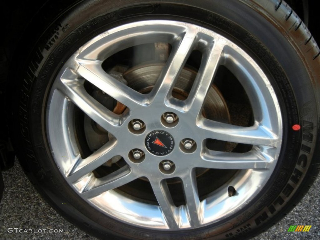 2006 Pontiac Grand Prix Gt Sedan Wheel Photo 72026352