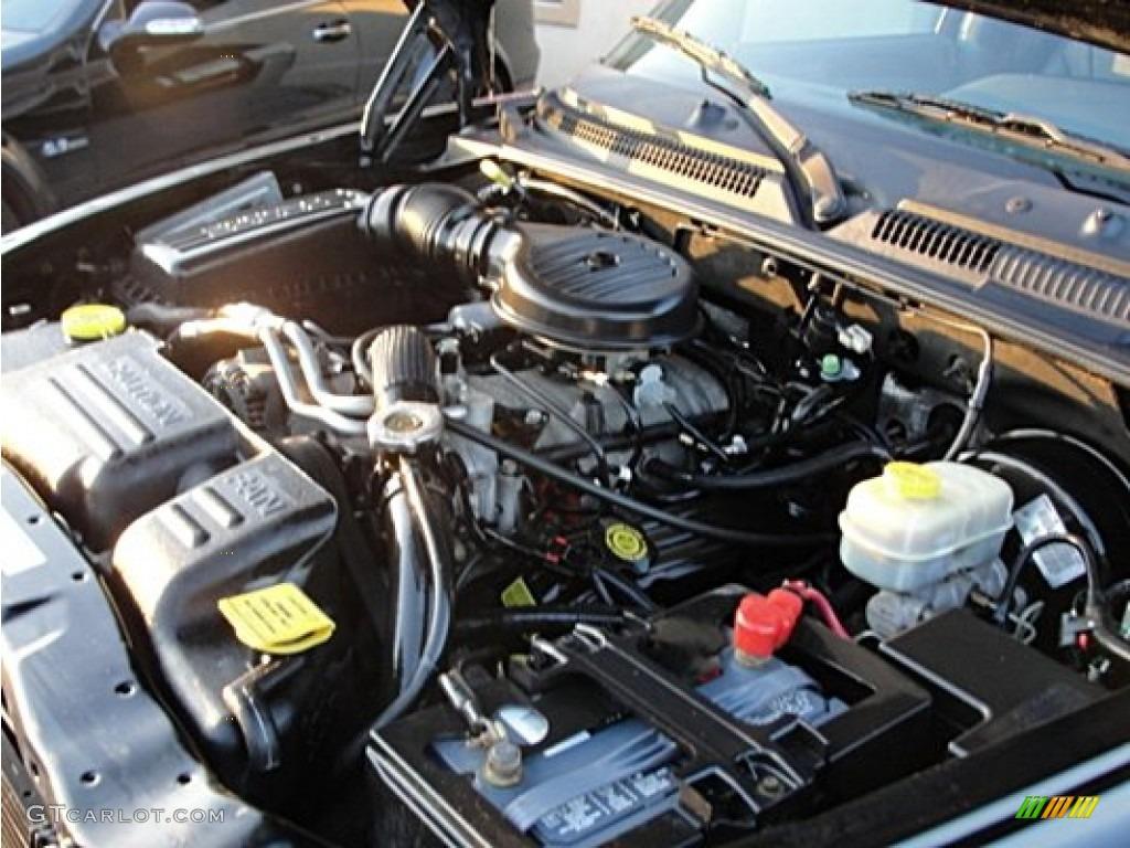 2000 dodge durango slt 5 9 liter ohv 16 valve v8 engine