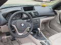 2013 BMW 1 Series Taupe Interior Prime Interior Photo
