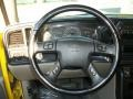 2006 Chevrolet Silverado 1500 Medium Gray Interior Steering Wheel Photo
