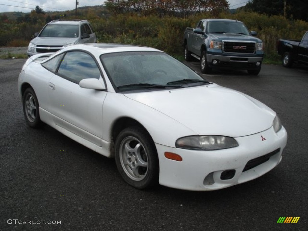 1998 Eclipse Gs Coupe Northstar White Tan Photo 1