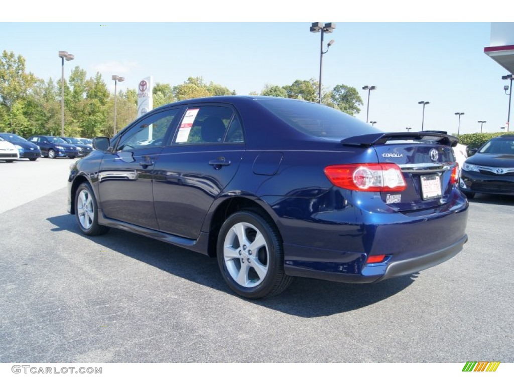 2013 nautical blue metallic toyota corolla s 71979883. Black Bedroom Furniture Sets. Home Design Ideas
