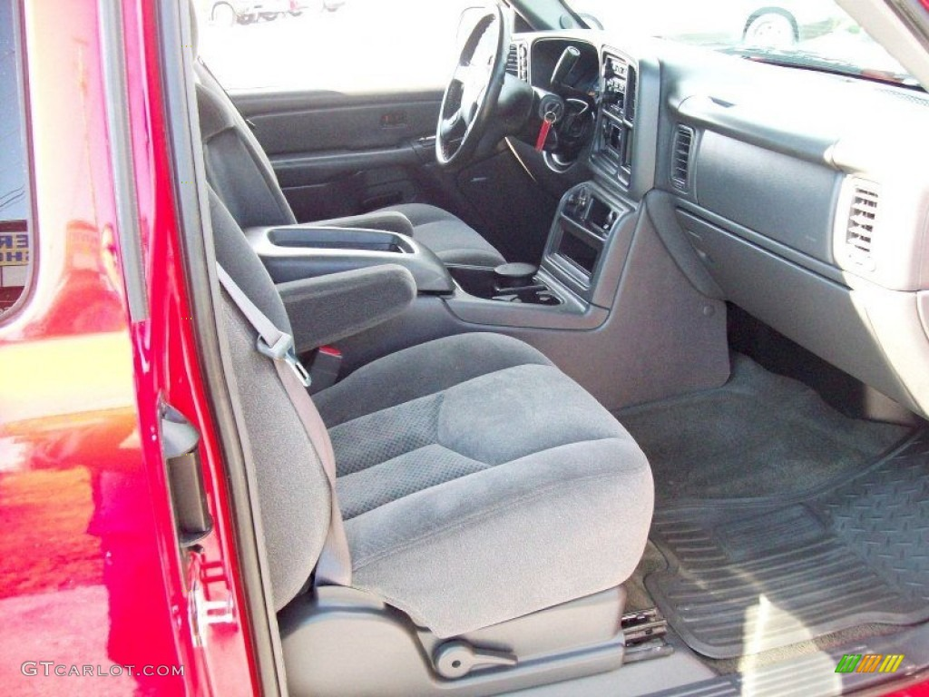 2005 Silverado 1500 Z71 Extended Cab 4x4 - Victory Red / Dark Charcoal photo #7